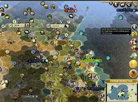 Civ V - notifications