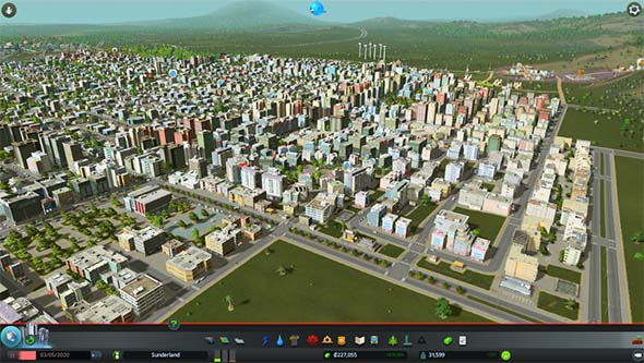 Cities Skylines - growing city