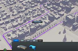 Cities Skylines - expanding bus routes