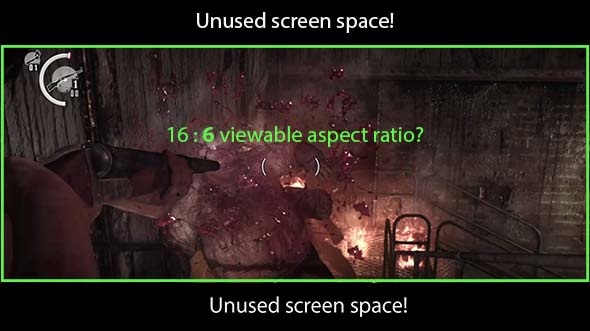 The Evil Within - 16:6 aspect ratio