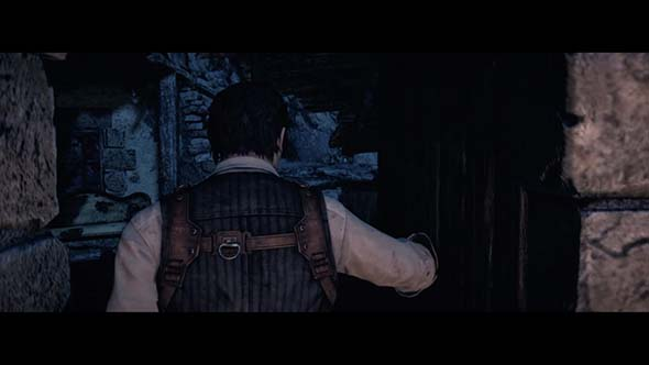 The Evil Within - entering a door