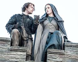 Game of Thrones (season 5) - Sansa and Theon jump