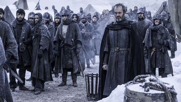 Game of Thrones (season 5) - Stannis sacrifices his daughter