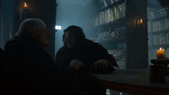Game of Thrones (season 5) - Maester Aemon's last words