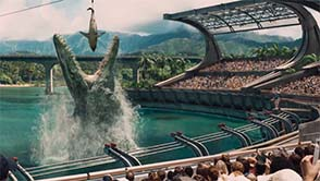 Jurassic World - looks like Sea World
