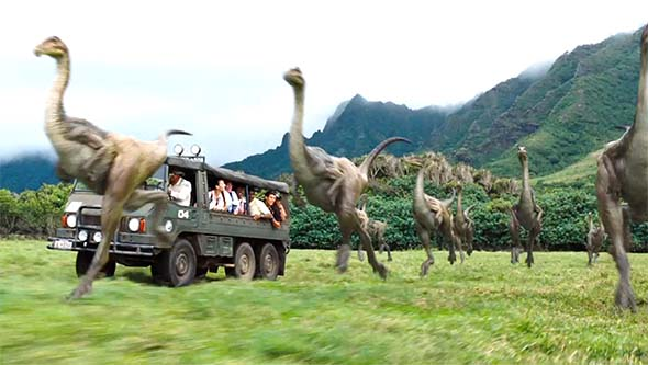 Jurassic World - dino safari