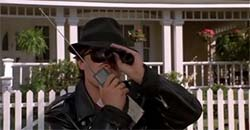 Back to the Future II - Marty with walkie talkie