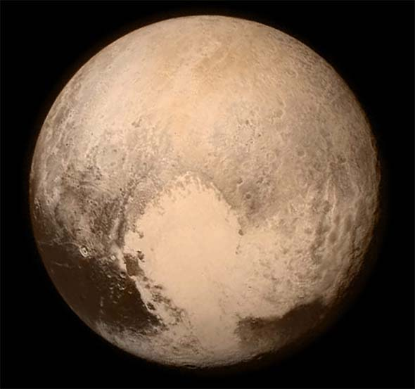 New Horizon photo of Pluto
