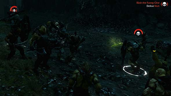 Middle Earth: Shadow of Mordor - Rash, the funny one's swarm