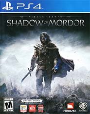 Middle Earth: Shadow of Mordor- box art