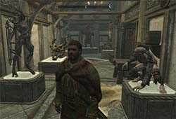Skyrim Hearthfire - trophy room