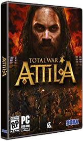 Total War: Attila - box art