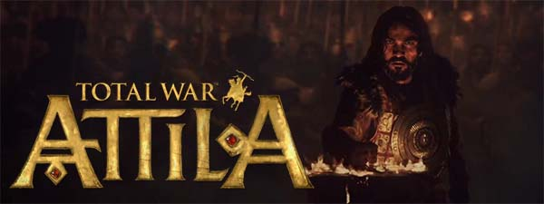 Total War: Attila - game title