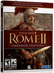 Total War: Rome II Emperor Edition- box art