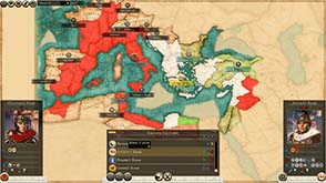 Total War: Rome II - Imperator Augustuc campaign map