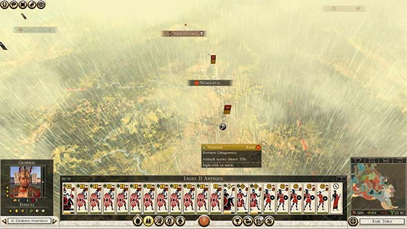 Total War: Rome II - weather