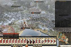 Total War: Rome II - empty event window