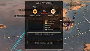Total War: Rome II - Choosing sides