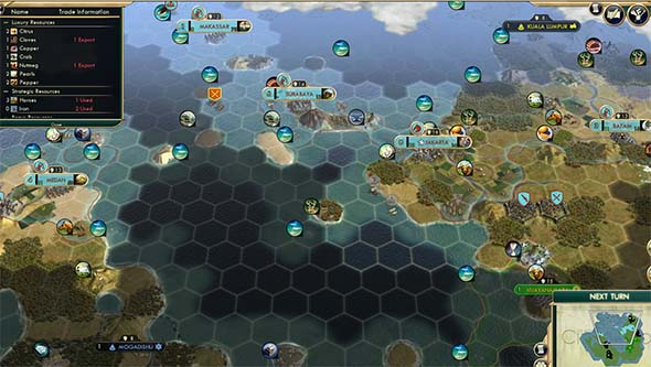 Civilization V - colonies