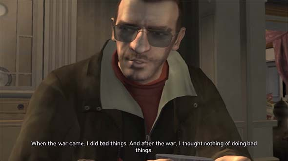 Grand Theft Auto IV - Nikko bemoans life of crime and violence