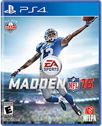Madden NFL 16 - cover art