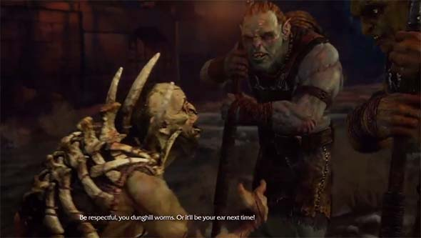 Middle Earth: Shadow of Mordor - investigating dead orc