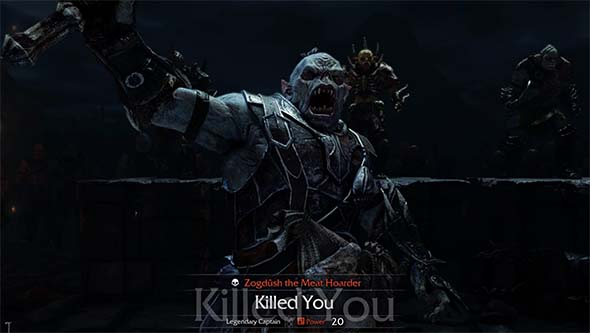 Middle Earth: Shadow of Mordor - orc levels up