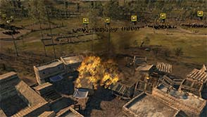 Total War: Attila - forest fire