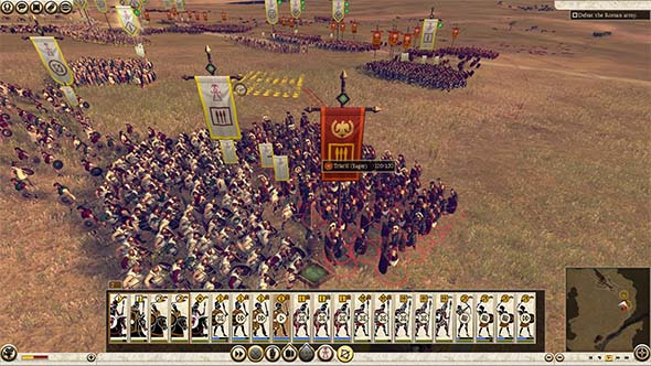 Total War: Rome II - bigger battles