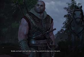 The Witcher III: Wild Hunt - Letho reunion