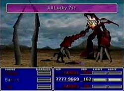 Final Fantasy VII - ruby weapon