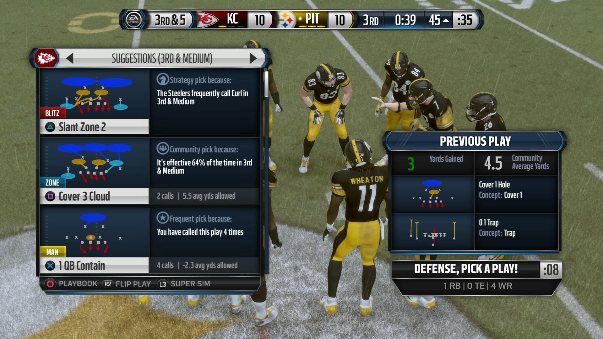 Madden NFL 16   QB Spy