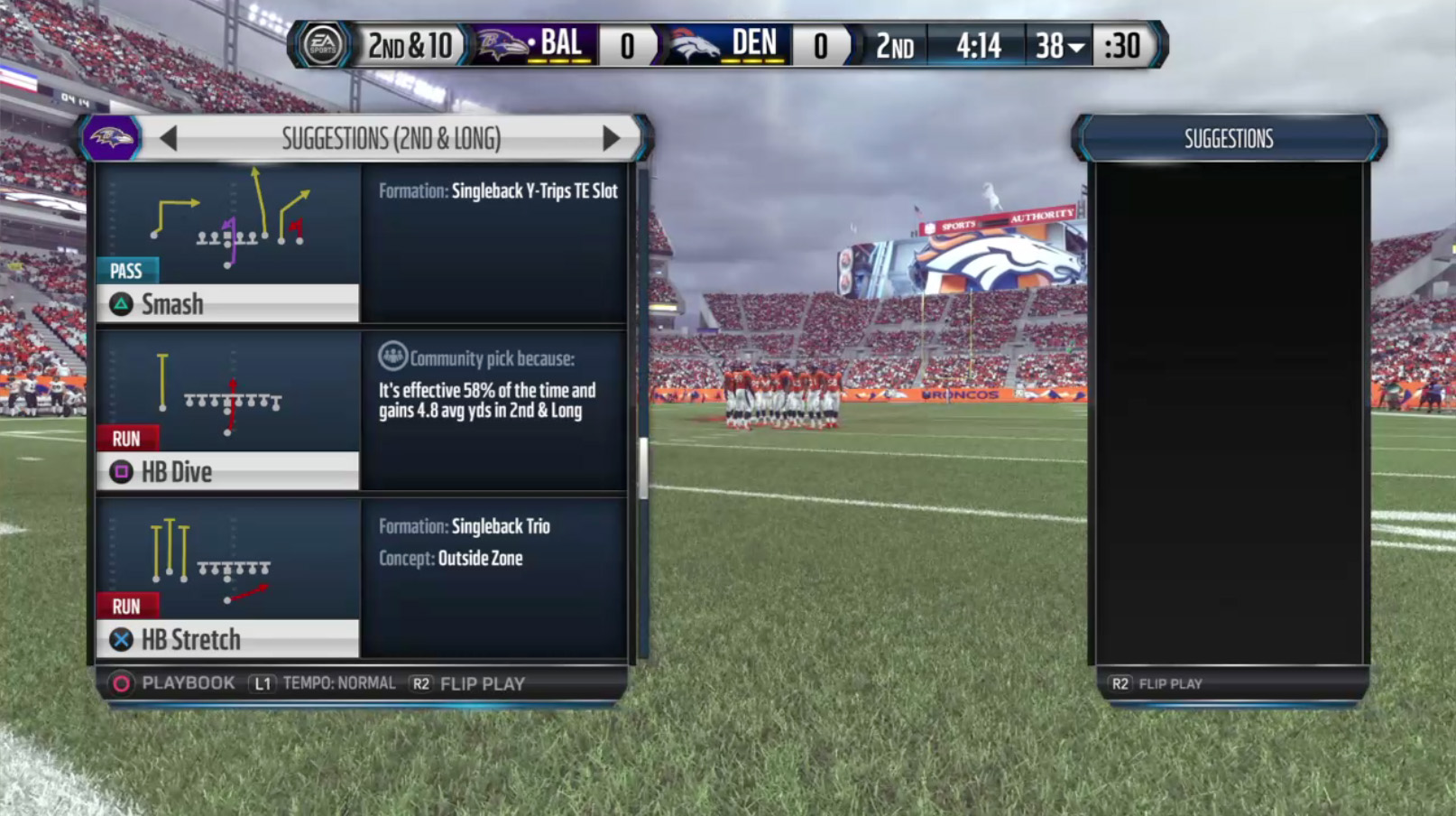 Madden Nfl 16 Local Multiplayer Play Call Screen