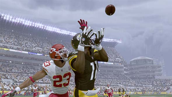 Madden NFL 16 - catching