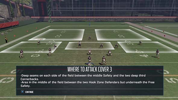 Madden NFL 16 - QB coverage practice