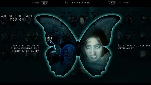 Until Dawn - Butterfly Effect