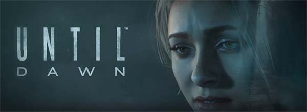 Until Dawn - game title