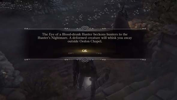 Bloodborne: the Old Hunters - Eye of Blood Drunk Hunter