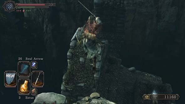 Dark Souls II: Scholar of the First Sin - Huntsman's Copse platforming