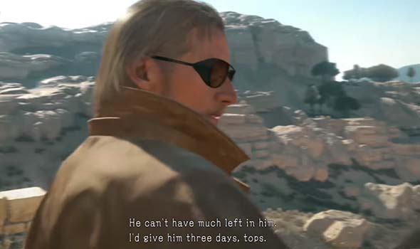 Metal Gear Solid V - three days to rescue Miller