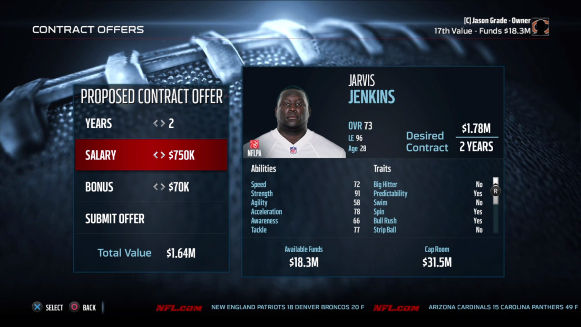 Putting together a better Madden offseason with the pieces