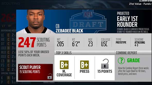 Madden 16 - unlocking draftee abilities