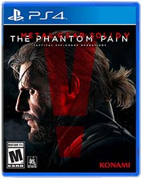 Metal Gear Solid V - boxart