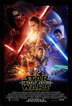 Star Wars the Force Awakens - title