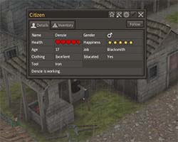 Banished - educated blacksmith