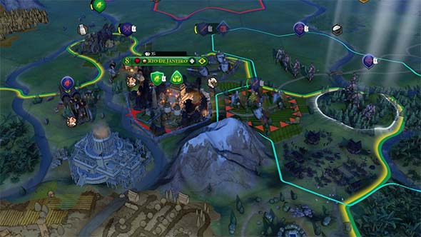 Civilization VI - informative graphics