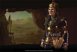 Civilization VI - Tomyris of Scythia
