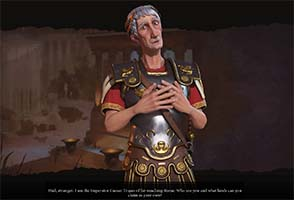 Civilization VI - Trajan of Rome