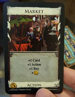 Dominion - action card