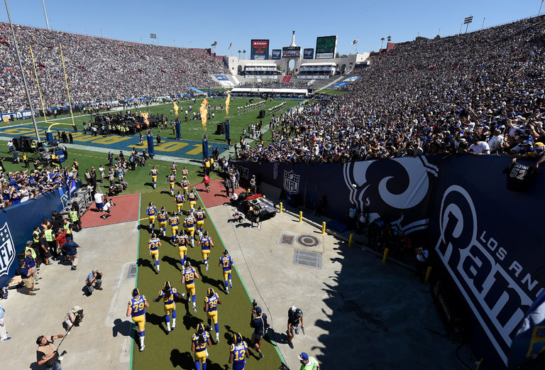 Will LA Rams be able to play home games in 2020?